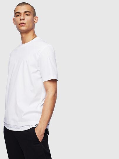 Diesel - T-GLASSY, Bianco - T-Shirts - Image 1