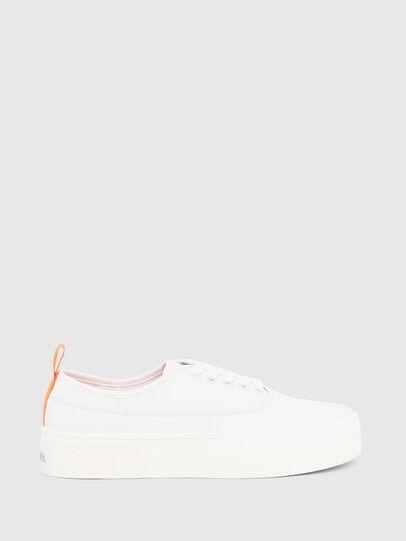 Diesel - S-VANEELA LOW, Bianco/Arancione - Sneakers - Image 1