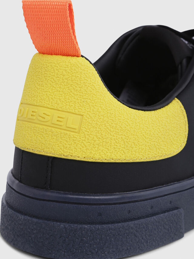 Diesel - S-CLEVER LOW, Nero/Giallo - Sneakers - Image 5