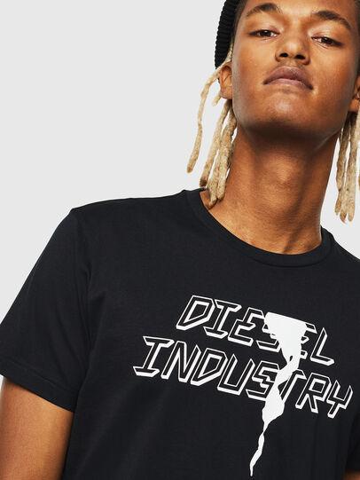 Diesel - T-DIEGO-J25, Nero - T-Shirts - Image 3