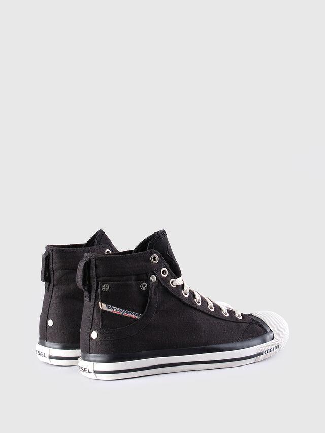 Diesel - EXPOSURE W, Nero/Bianco - Sneakers - Image 3
