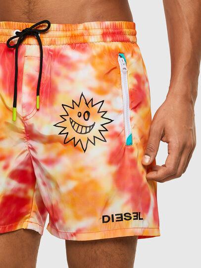 Diesel - BMBX-WAVE 2.017, Arancione - Boxer da bagno - Image 3