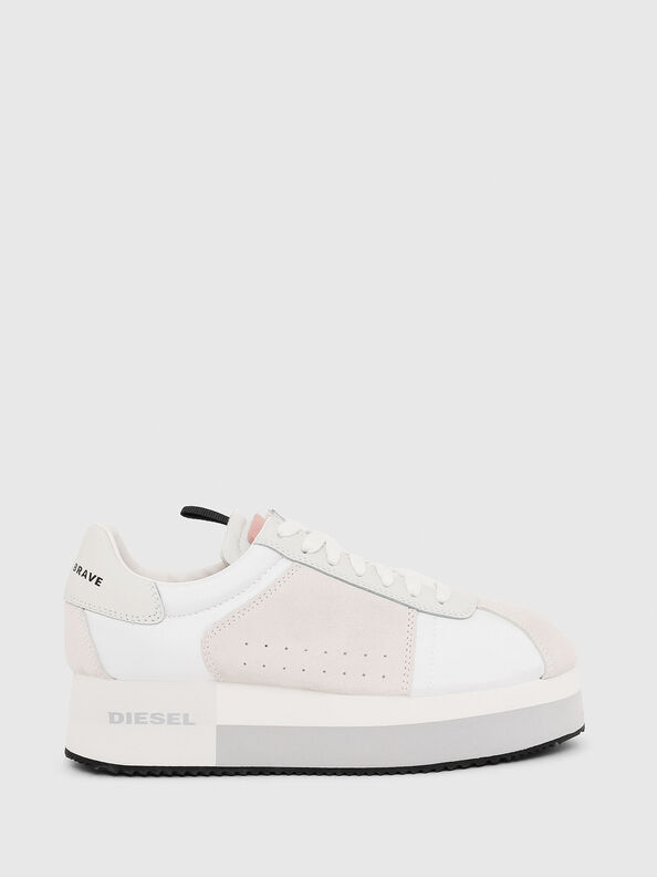 S-PYAVE WEDGE, Bianco/Rosa - Sneakers
