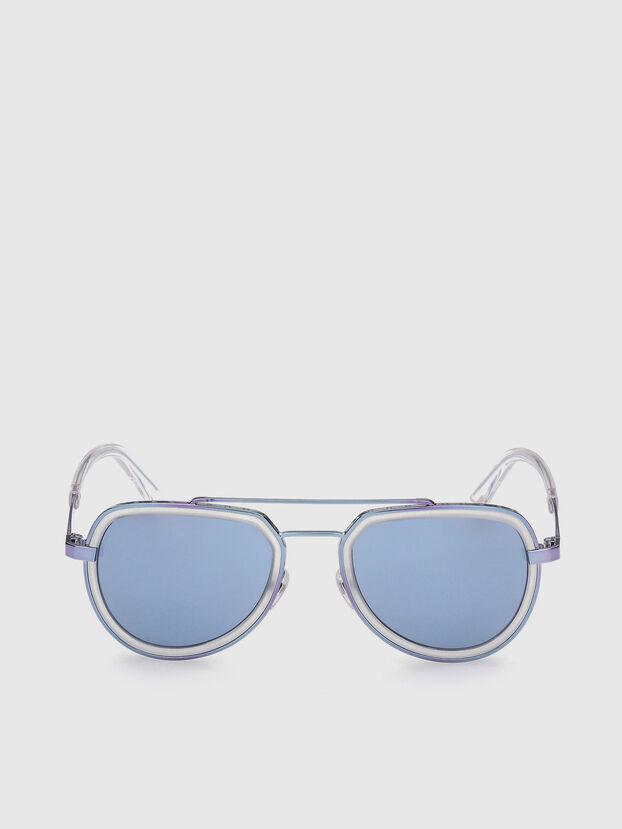 DL0266, Blu - Occhiali da sole