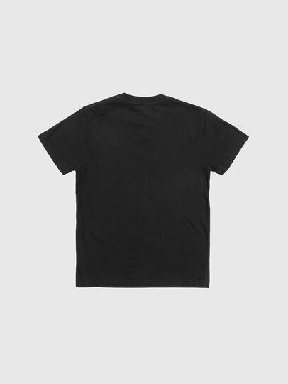 Diesel - TJUSTLOGO, Nero - T-shirts e Tops - Image 2