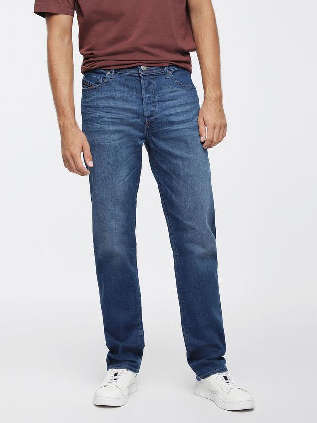 Diesel - Thytan 084RM, Blu medio - Jeans - Image 1