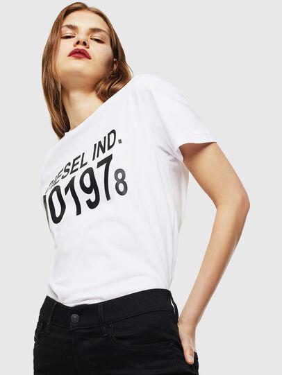 Diesel - T-DIEGO-001978, Bianco - T-Shirts - Image 2