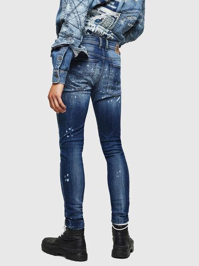 Diesel - Sleenker 0091Y, Blu medio - Jeans - Image 2