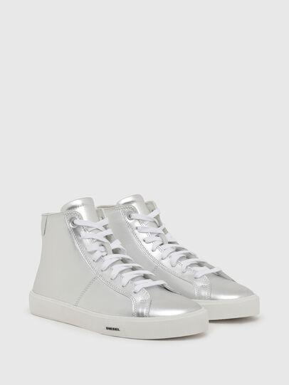Diesel - S-MYDORI MC W, Argento - Sneakers - Image 2