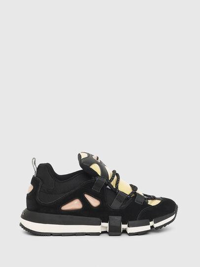 Diesel - H-PADOLA SL W, Nero/Giallo - Sneakers - Image 1