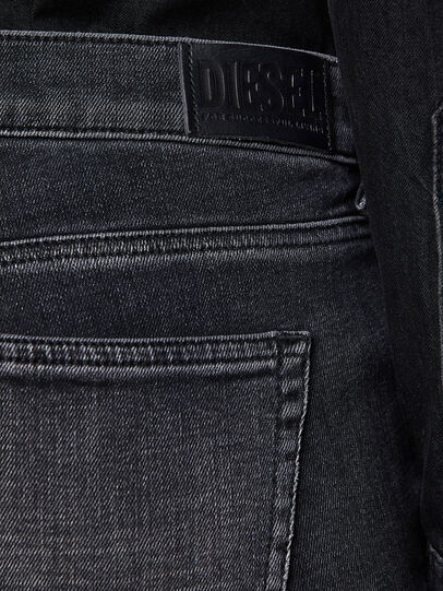 Diesel - D-Ebbey 009PW, Nero/Grigio scuro - Jeans - Image 4