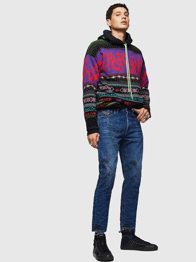 Diesel - Mharky 0078S, Blu medio - Jeans - Image 6