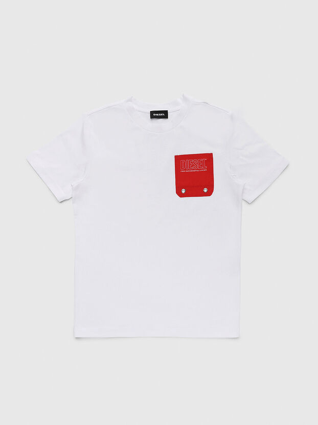 TBMOW, Bianco/Rosso - T-shirts e Tops