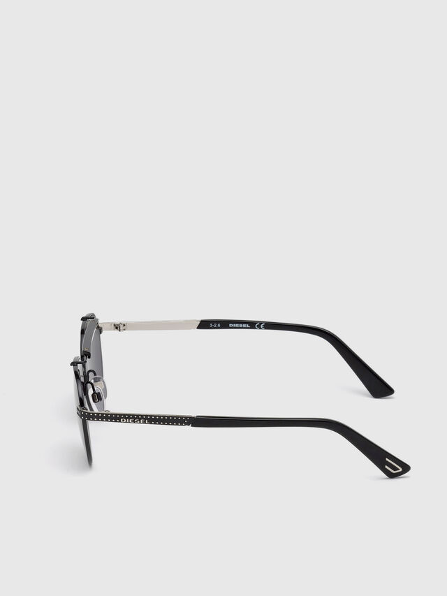 Diesel - DL0239, Nero - Occhiali da sole - Image 3