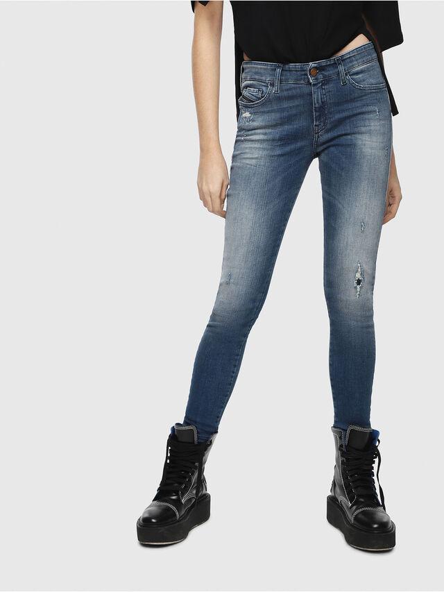Diesel - Slandy 084MU, Blu medio - Jeans - Image 1