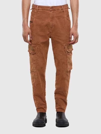 Diesel - D-Krett JoggJeans 069RJ, Marrone Chiaro - Jeans - Image 1