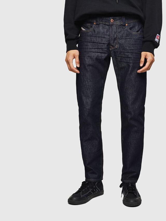 Diesel - Larkee-Beex 084HN, Blu Scuro - Jeans - Image 1