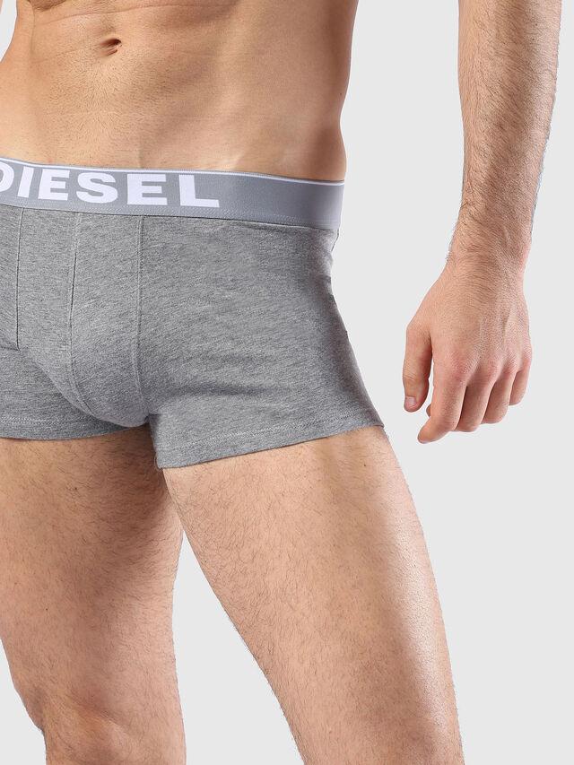 Diesel - UMBX-KORYTHREEPACK, Bianco/Nero - Boxer stretch - Image 4