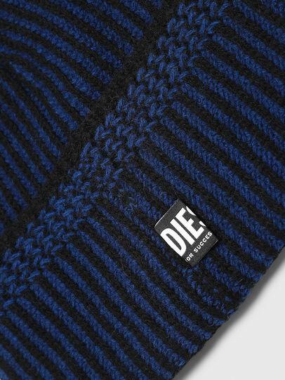 Diesel - K-MANNYS, Nero/Blu - Cappelli invernali - Image 3