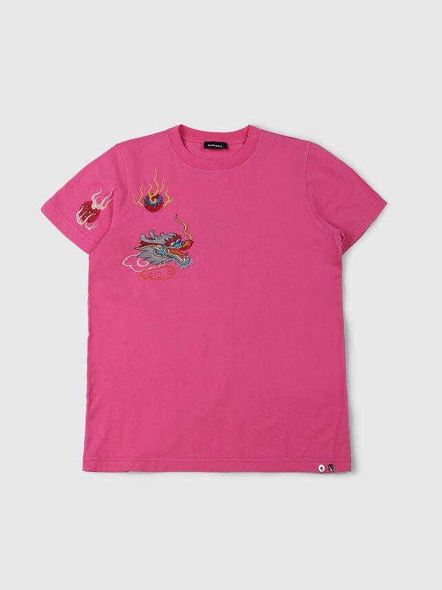 Diesel - TDARIA, Rosa - T-shirts e Tops - Image 1