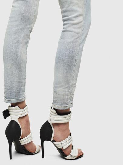 Diesel - Babhila High 009AX, Blu Chiaro - Jeans - Image 4