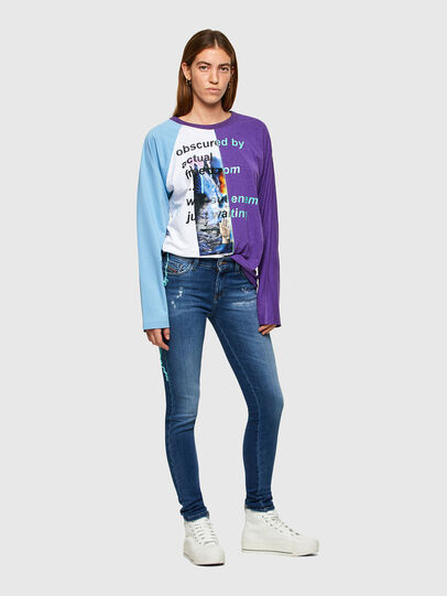 Diesel - Slandy 009PU, Blu medio - Jeans - Image 5