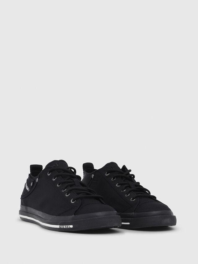 Diesel - EXPOSURE LOW I, Nero - Sneakers - Image 2