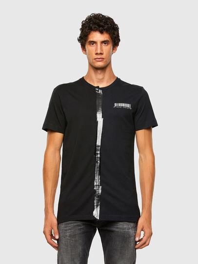 Diesel - T-JUBBY, Nero - T-Shirts - Image 5
