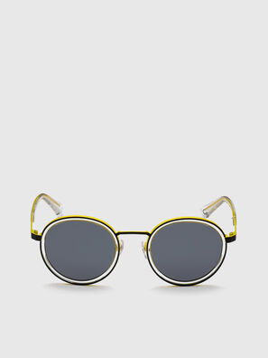 DL0321, Nero/Giallo - Occhiali da sole