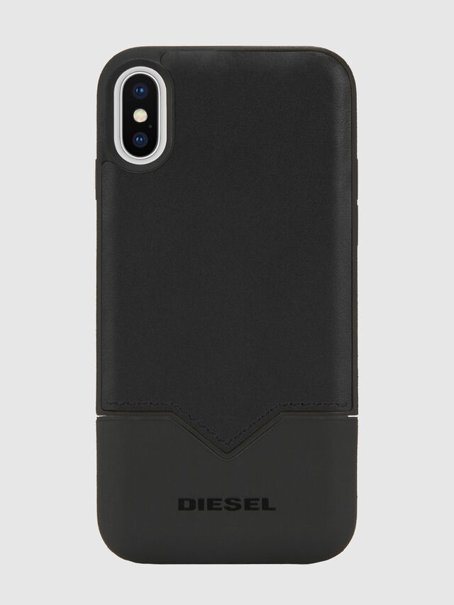 Diesel - CREDIT CARD IPHONE X CASE, Nero - Cover - Image 5