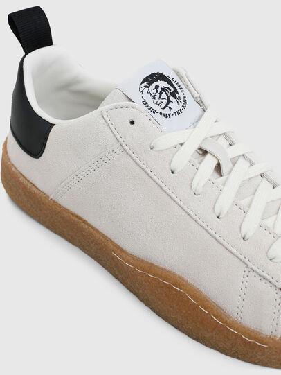 Diesel - S-CLEVER PAR LOW, Bianco/Nero - Sneakers - Image 4