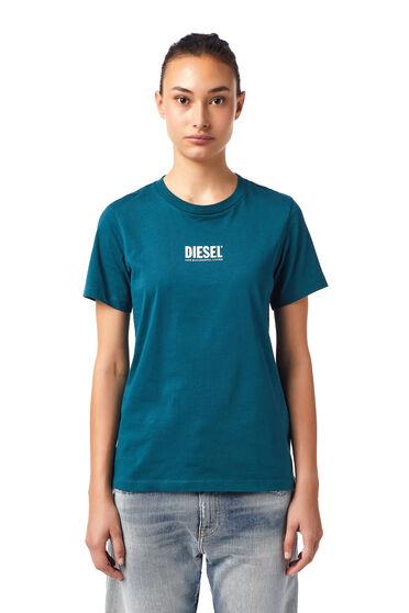 T-shirt Green Label con piccolo logo