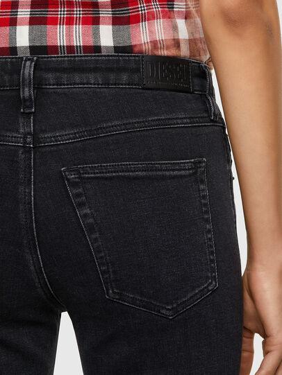 Diesel - Babhila 0870G, Nero/Grigio scuro - Jeans - Image 4