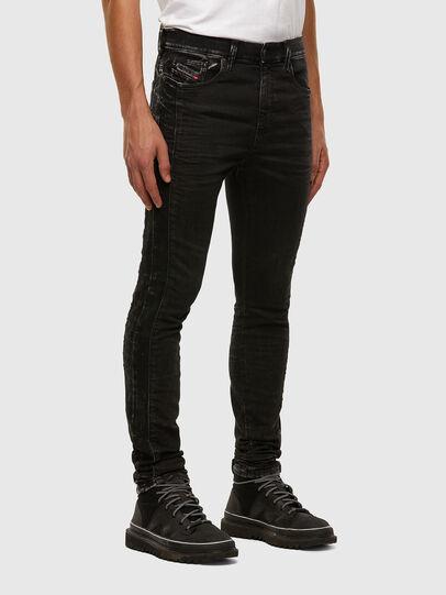 Diesel - D-REEFT JoggJeans® 009FY, Nero/Grigio scuro - Jeans - Image 6