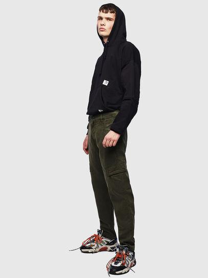 Diesel - D-Krett JoggJeans® 069LX, Verde Militare - Jeans - Image 6