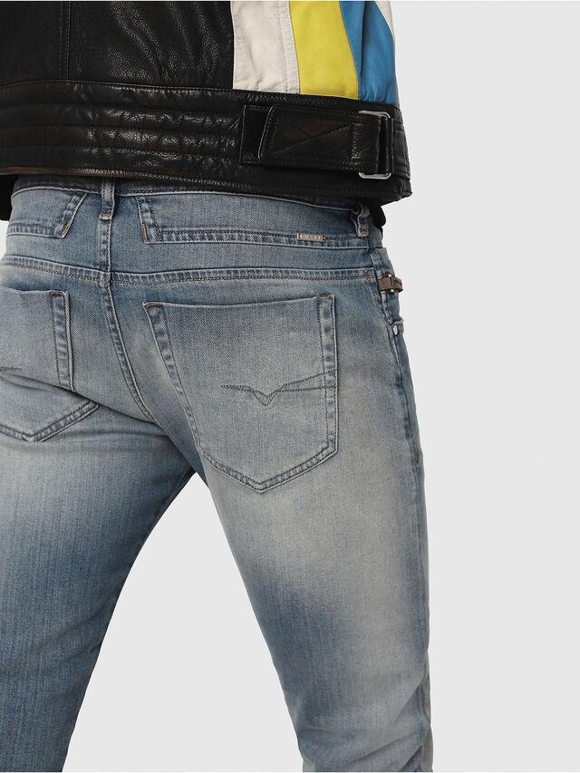 Diesel - D-Bazer 081AP, Blu Chiaro - Jeans - Image 4