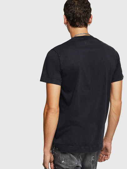 Diesel - T-THURE, Nero - T-Shirts - Image 2