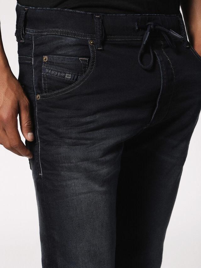 Diesel - KROOLEY JOGGJEANS 0686F, Blu Scuro - Jeans - Image 6