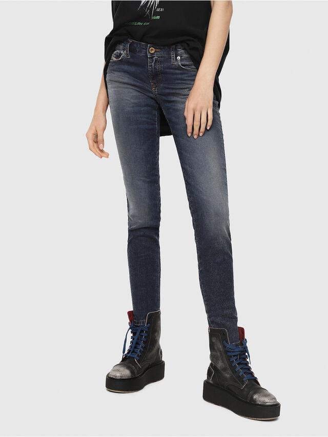 Diesel - Gracey JoggJeans 069FG, Blu Scuro - Jeans - Image 1