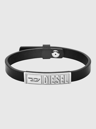 Diesel - DX1226, Nero - Braccialetti - Image 1