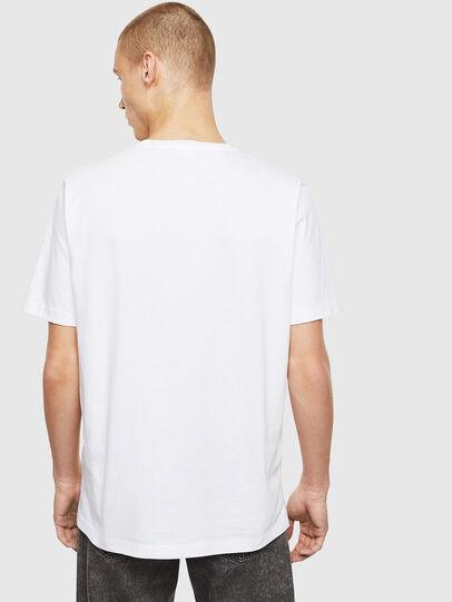 Diesel - T-JUST-T26, Bianco - T-Shirts - Image 2