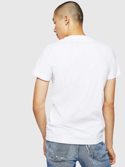 Diesel - T-DIEGO-B3, Bianco - T-Shirts - Image 2