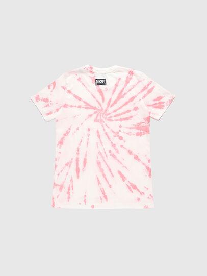 Diesel - TSILYTD, Rosa/Bianco - T-shirts e Tops - Image 2