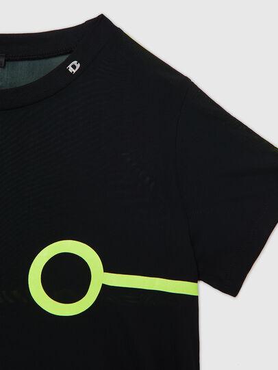 Diesel - UFTEE-ROUNDFEM-M, Nero - T-Shirts - Image 3