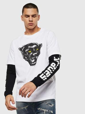 T-SHOOT-B2, Bianco/Nero - T-Shirts