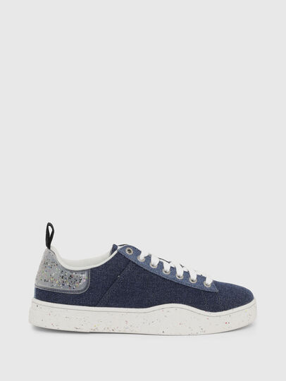 Diesel - S-CLEVER LOW LACE W, Blu - Sneakers - Image 1