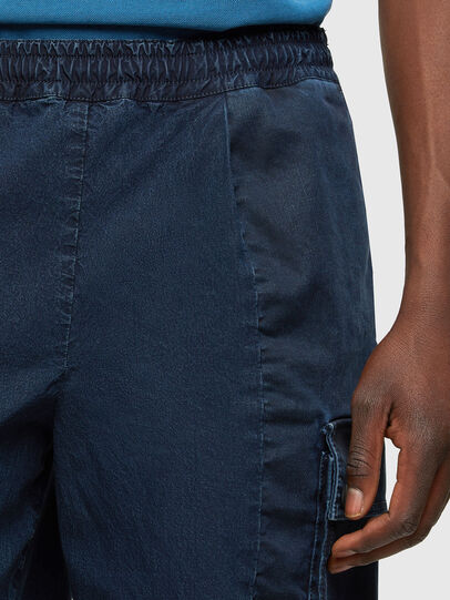 Diesel - D-PRONE-SP JOGGJEANS, Blu Scuro - Shorts - Image 4