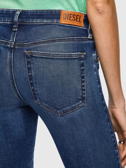 Diesel - Slandy Low 009ZX, Blu Scuro - Jeans - Image 4