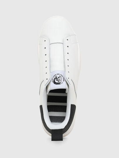 Diesel - S-CLEVER SO, Bianco/Nero - Sneakers - Image 6