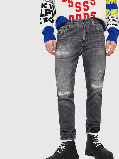 Diesel - D-Eetar 0890F, Grigio Chiaro - Jeans - Image 1